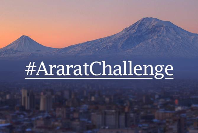Aurora Humanitarian Initiative launches #AraratChallenge global crowdfunding campaign