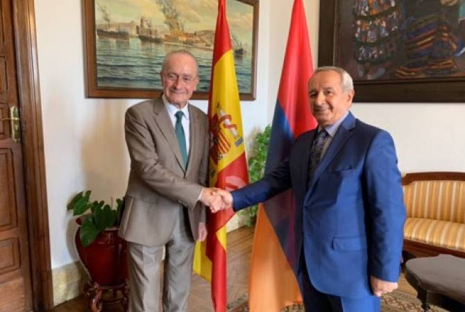 Armenia, Spain's Málaga discuss development prospects of relations in several fields