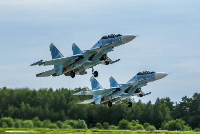 Russian SU-30SM multirole fighter aircrafts to be delivered to Armenia by the beginning of 2020