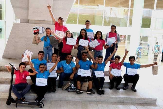 В организованном при поддержке Ucom технолагере «Армат» приняли участие свыше 400 школьников