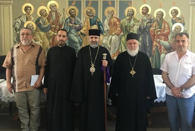 В армянской церкви румынского города Тулча отслужена литургия