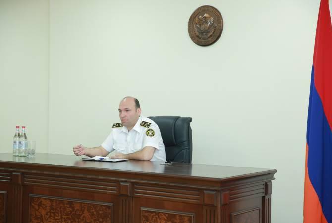 И. о. главного принудительного исполнителя Армении провел рабочее совещание