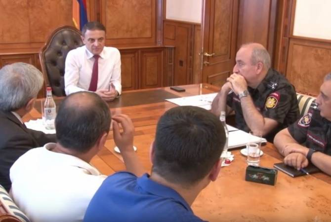 Валерий Осипян встретился с представителями НС РА