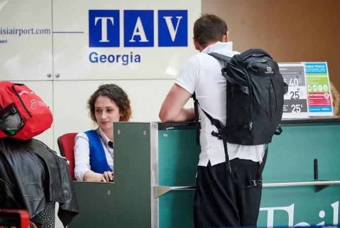Зафиксировано сокращение пассажиров в аэропортах Тбилиси и Батуми