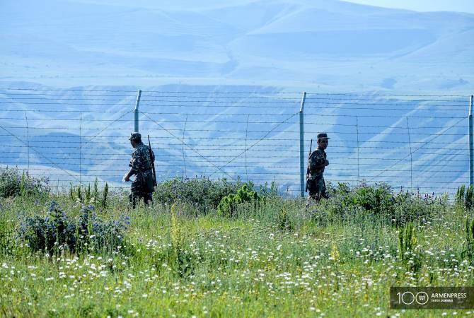 АРМЕНИЯ: СНБ Армении для охраны государственной границы будет выделено более 20 млн драмов
