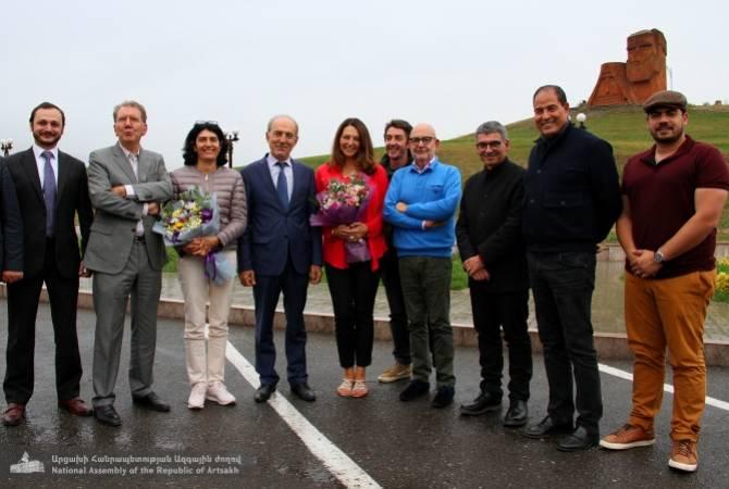 Делегация французских парламентариев прибыла в Республику Арцах с трехдневным рабочим визитом