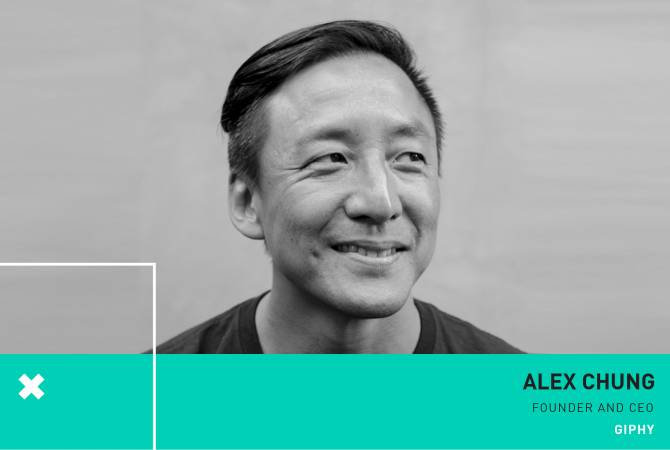 GIPHY founder Alex Chung to join Kim Kardashian West on a panel at WCIT Yerevan