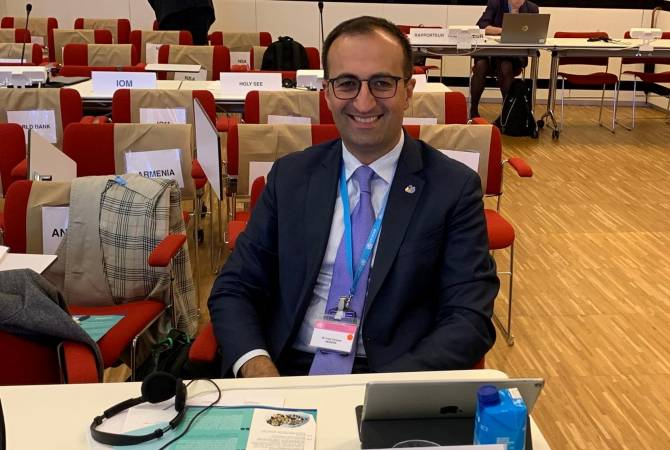 Armenian healthcare minister elected member of WHO Standing Committee