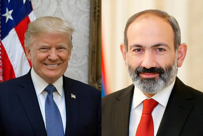 US welcomes Armenian government's commitment directed to democratic reforms - Trump