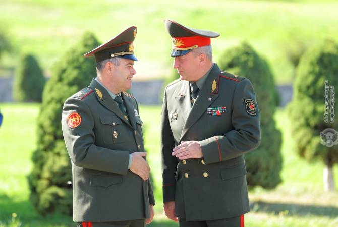 boss of all-purpose body of Belarusian equip Forces arrives appear in Armenia