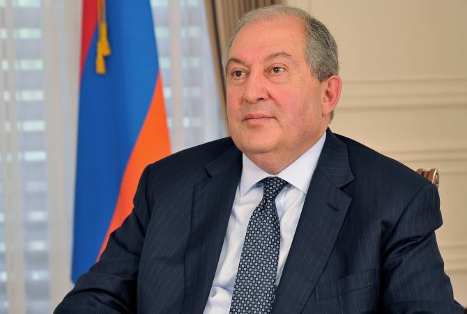 Armenian President congratulates Malta on Independence Day