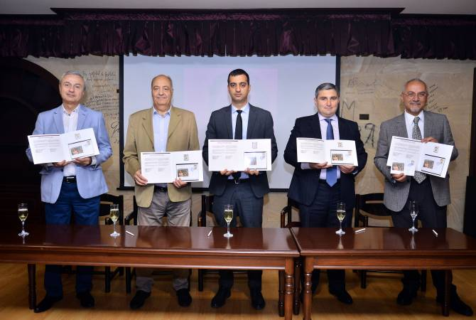 АРМЕНИЯ: В обращение выпущена почтовая марка, посвященная 100-летию Геворга Эмина
