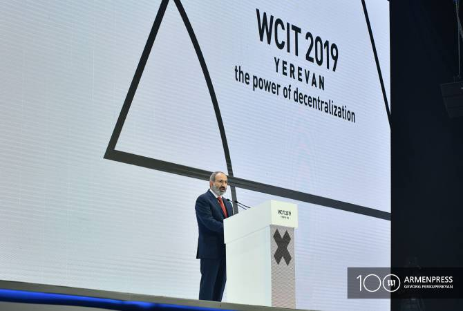 Armenia becomes more attractive country for innovative investments – PM tells WCIT 2019 participants