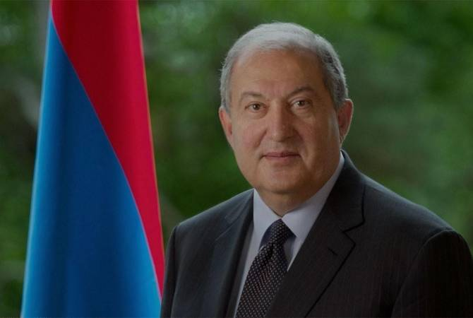 Armenian President congratulates King Felipe VI of Spain on National Day