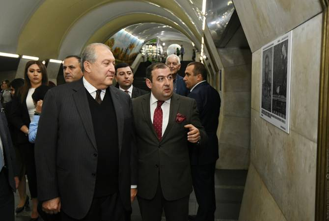 President attends Komitas event