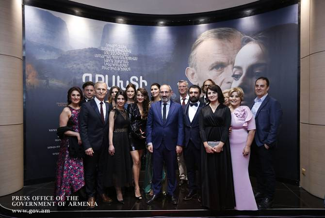 "PM Pashinyan attends premiere of ""Gate to Heaven"" Artsakh war drama"