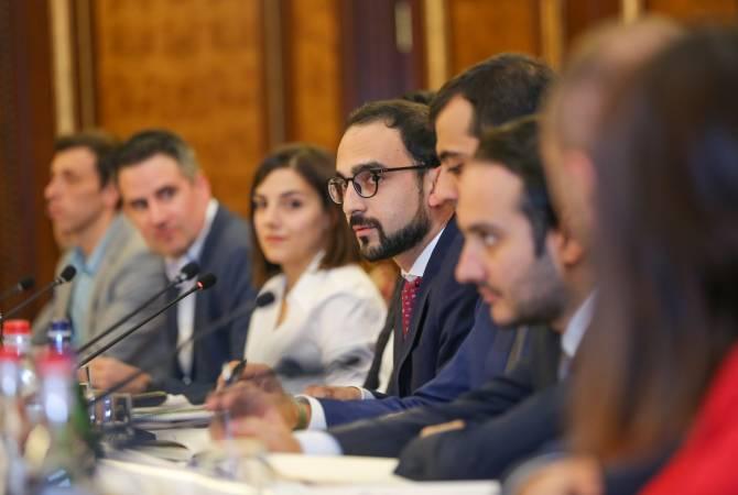В правительстве состоялась встреча, посвященная инновационному развитию Армении