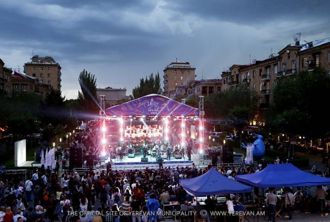 Yerevan today celebrates its 2801th anniversary