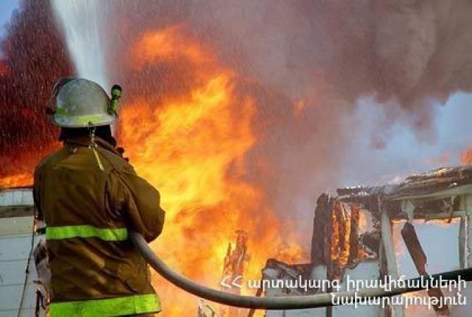 При пожаре в доме на ереванской ул. Батикяна погиб один из жителей