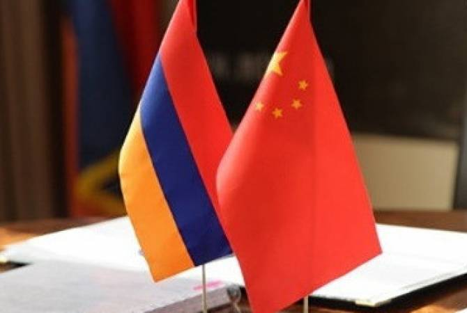 Armenian defense minister meets Chinese counterpart in Beijing