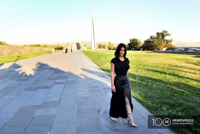 Kim Kardashian applauds US House of Representatives for recognizing Armenian Genocide