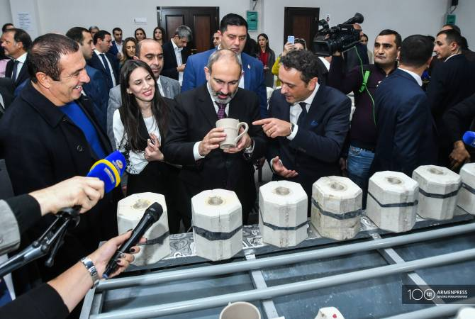 PM attends inauguration of Ceramisia plant