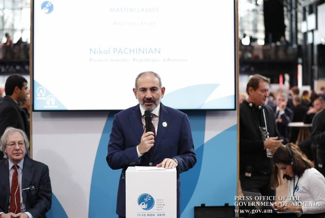 negative lone be able to articulate headed for us appear in the expression of break open – Pashinyan