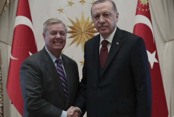 Senator Lindsey Graham blocks Armenian Genocide resolution after meeting with US, Turkish presidents