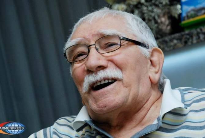 Армен Джигарханян проходит в больнице профилактическое обследование