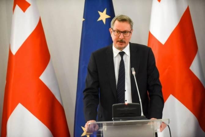 В ЕС недовольны провалом в Грузии конституционной реформы по выборам