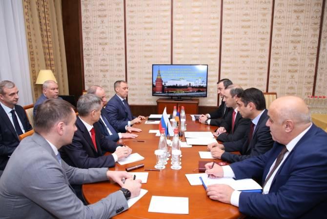 Секретарь СБ Армении обсудил с российским коллегой план военно-промышленного сотрудничества