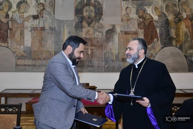 Национальная галерея Армении и Армянская епархия Румынии реализуют совместные  программы