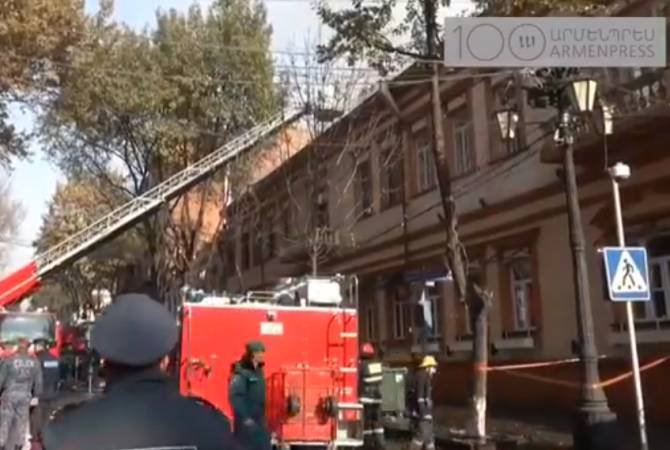 Cabinet member's 911 call on restaurant fire in Yerevan saves crucial time