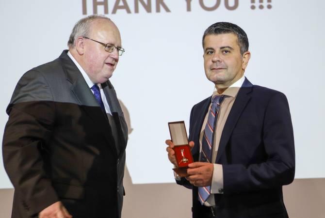Министерство культуры Польши наградило Армана Падаряна медалью