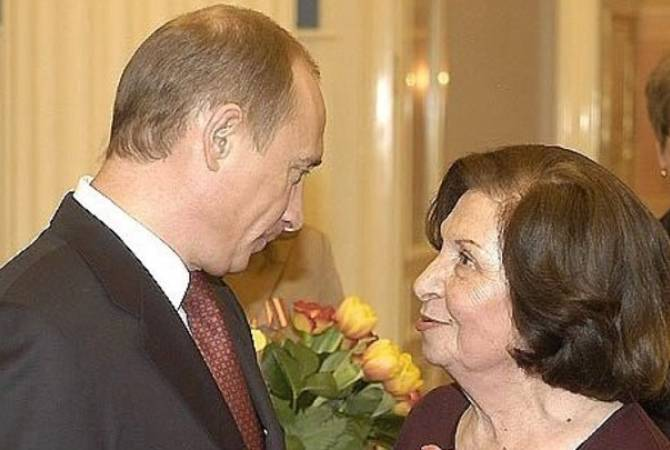 Putin extends condolences on demise of Gohar Vardanyan