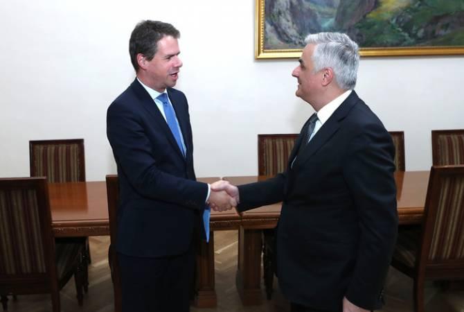 Ряд французских организаций выразили заинтересованность в инвестициях в Армении