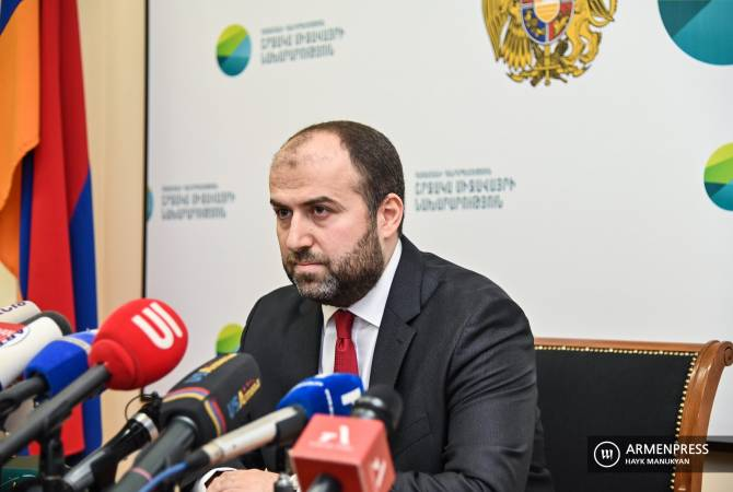Environment Minister Erik Grigoryan's yearend news conference