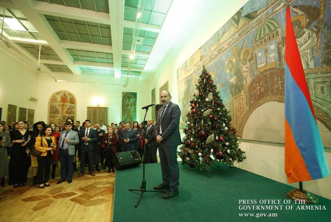 Mass media helps Government to be transparent – PM Pashinyan