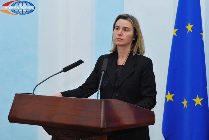EU support to Armenia reforms increased after 2018 revolution, says Federica Mogherini