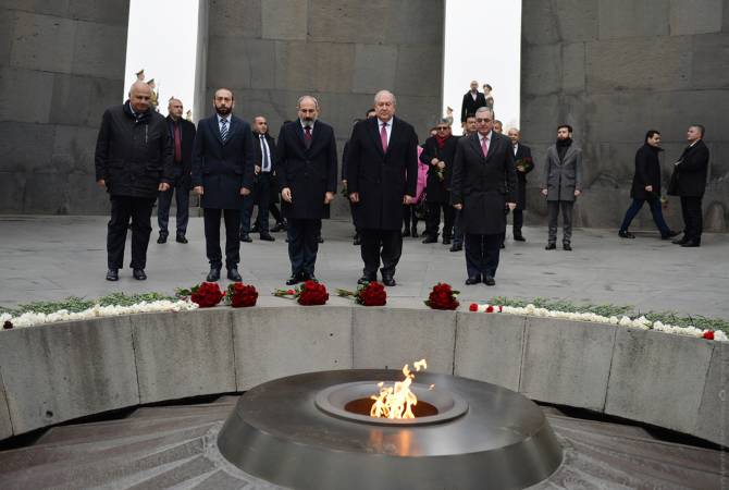 Armenia honors genocide victims on UN Int'l Day of Commemoration and Dignity of Victims