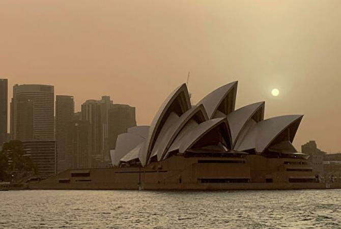 Уровень качества воздуха в Сиднее пересек критическую отметку
