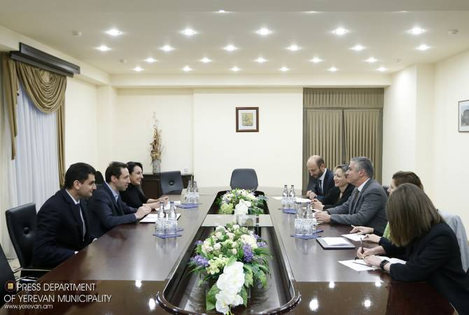 Yerevan Mayor holds meeting with ADB Country Director for Armenia