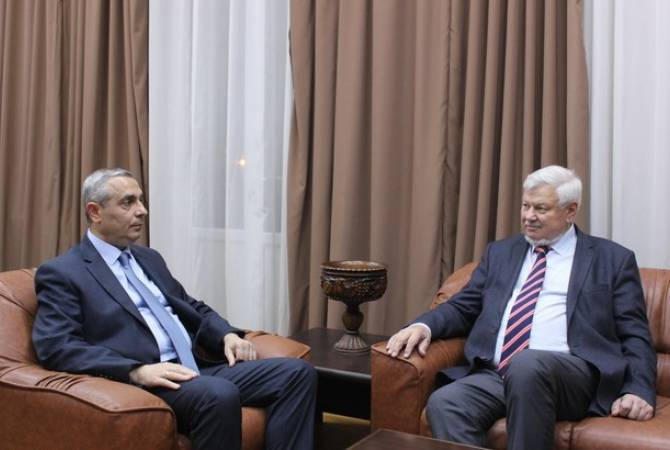 Глава МИД Республики Арцах принял личного представителя действующего председателя  ОБСЕ