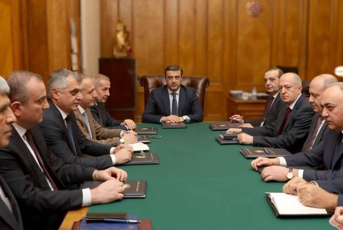 В СНБ Армении состоялось заседание Совета директорa