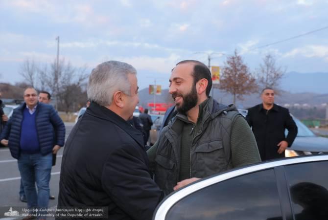 Armenian parliamentarians visit Artsakh