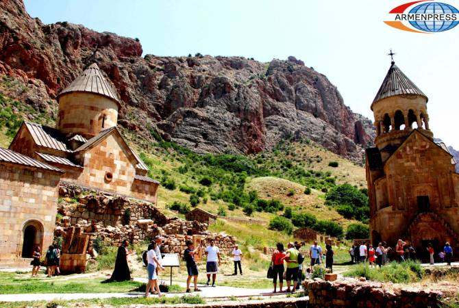 Armenia's domestic tourism growth rate comprised 45.7% in January-September 2019