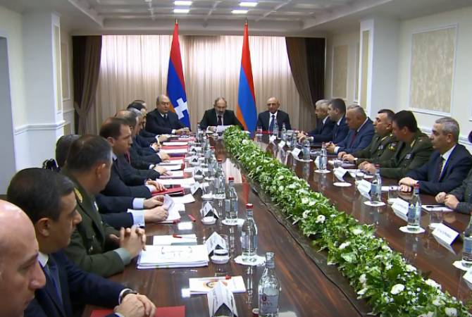 Joint session of Security Councils of Armenia and Artsakh kicks off in Yerevan