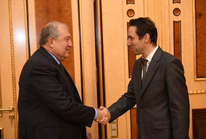 АРМЕНИЯ: Армен Саркисян провел встречу с мэром Еревана