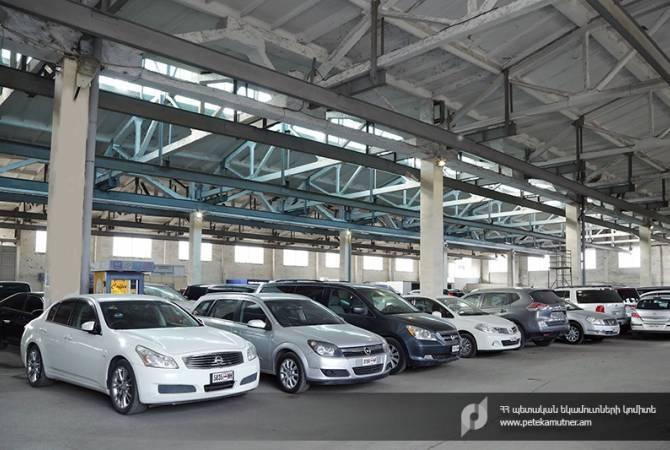 Поступления в бюджет от таможенных платежей за автомобили увеличились более чем на 58 млрд драмов