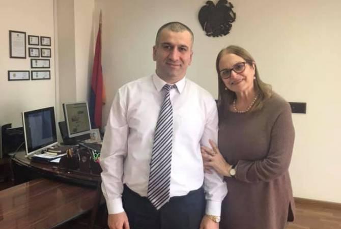 АРМЕНИЯ: Оперная певица Аракс Мансурян получила гражданство Армении
